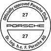 Officially approved Porsche Club 27
